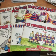 Coleccionismo deportivo: OSCAR BARÇA LOTE 7 EJEMPLARES EL PERIODICO (COIB37. Lote 183686726