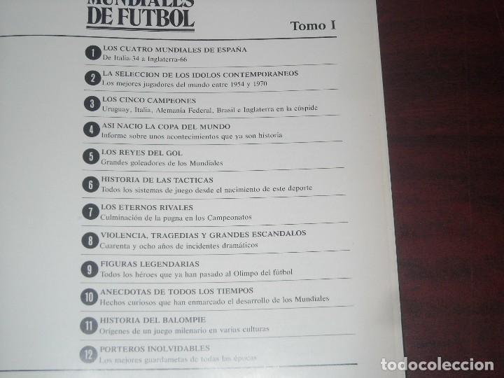 Coleccionismo deportivo: LOS MUNDIALES DE FUTBOL - TOMO 1 - EDI SEDMAY- VER FOTOS DETALLES - Foto 3 - 183959705