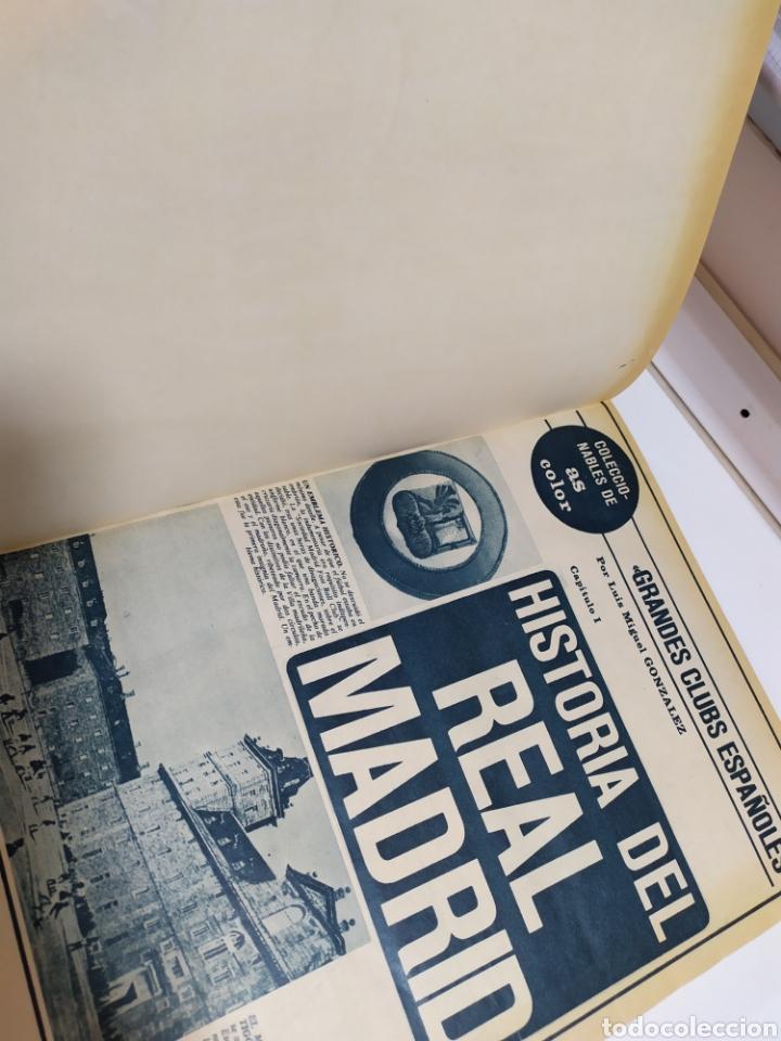 Coleccionismo deportivo: Historia del Real Madrid, coleccionable Tomo completo del as color 1902 -1975 - Foto 8 - 183961432