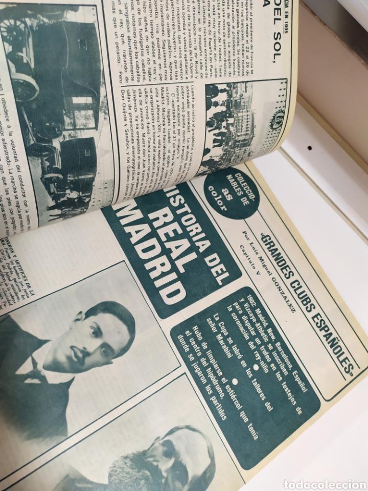 Coleccionismo deportivo: Historia del Real Madrid, coleccionable Tomo completo del as color 1902 -1975 - Foto 11 - 183961432