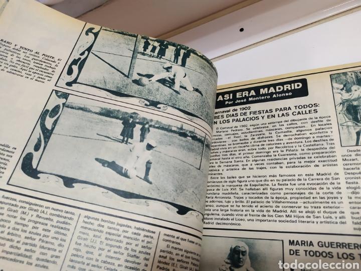 Coleccionismo deportivo: Historia del Real Madrid, coleccionable Tomo completo del as color 1902 -1975 - Foto 14 - 183961432
