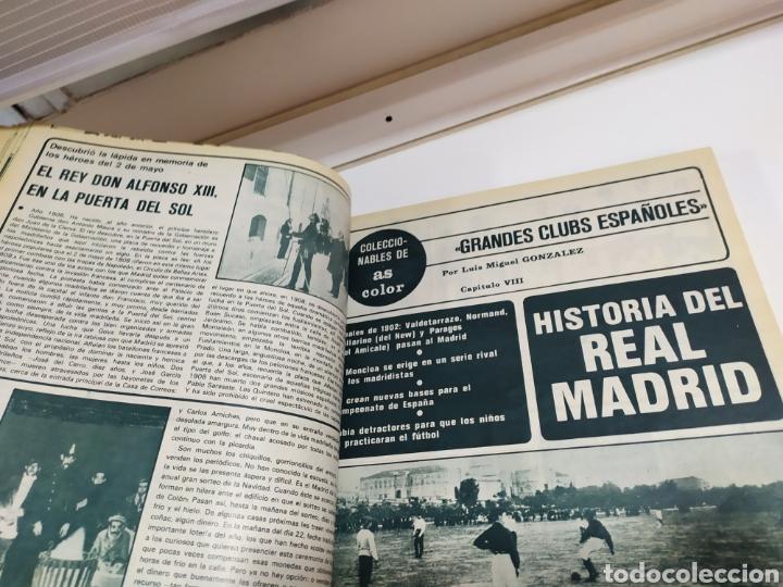 Coleccionismo deportivo: Historia del Real Madrid, coleccionable Tomo completo del as color 1902 -1975 - Foto 17 - 183961432