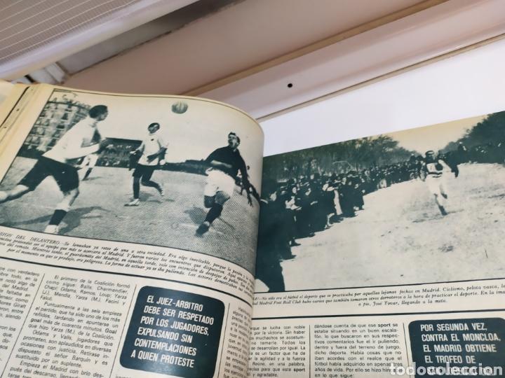 Coleccionismo deportivo: Historia del Real Madrid, coleccionable Tomo completo del as color 1902 -1975 - Foto 19 - 183961432