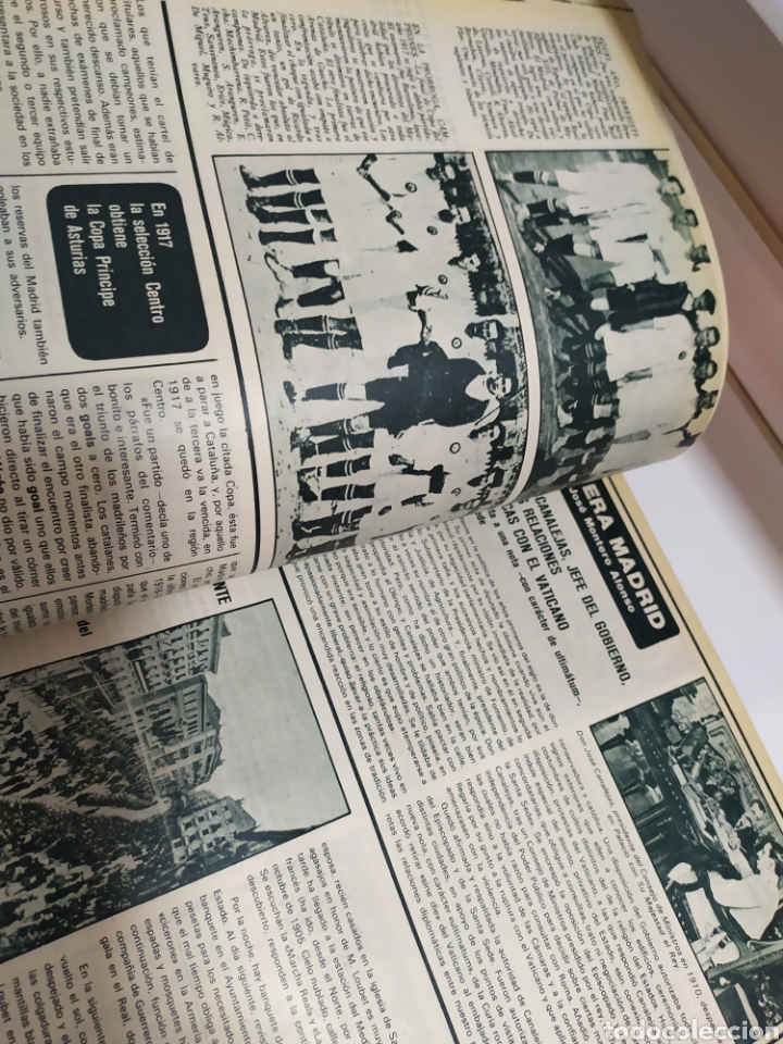 Coleccionismo deportivo: Historia del Real Madrid, coleccionable Tomo completo del as color 1902 -1975 - Foto 23 - 183961432