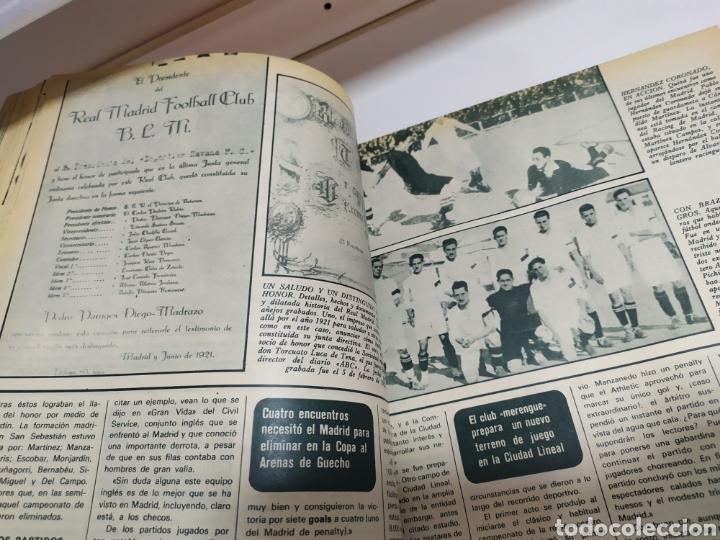 Coleccionismo deportivo: Historia del Real Madrid, coleccionable Tomo completo del as color 1902 -1975 - Foto 24 - 183961432