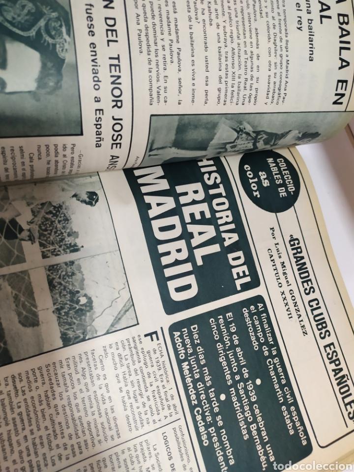 Coleccionismo deportivo: Historia del Real Madrid, coleccionable Tomo completo del as color 1902 -1975 - Foto 26 - 183961432