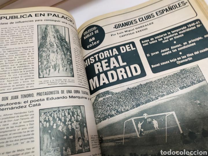 Coleccionismo deportivo: Historia del Real Madrid, coleccionable Tomo completo del as color 1902 -1975 - Foto 27 - 183961432