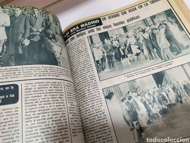 Coleccionismo deportivo: Historia del Real Madrid, coleccionable Tomo completo del as color 1902 -1975 - Foto 28 - 183961432