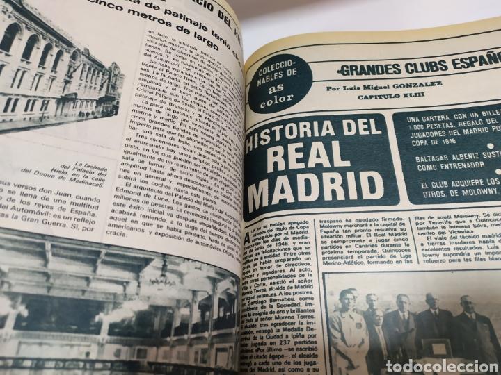 Coleccionismo deportivo: Historia del Real Madrid, coleccionable Tomo completo del as color 1902 -1975 - Foto 29 - 183961432