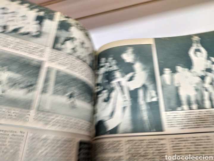Coleccionismo deportivo: Historia del Real Madrid, coleccionable Tomo completo del as color 1902 -1975 - Foto 31 - 183961432
