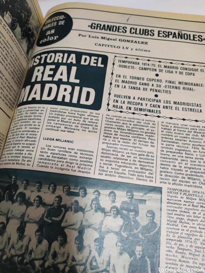Coleccionismo deportivo: Historia del Real Madrid, coleccionable Tomo completo del as color 1902 -1975 - Foto 33 - 183961432