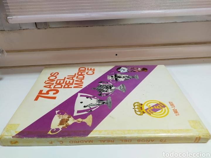 Coleccionismo deportivo: 75 AÑOS DEL REAL MADRID C.F. - 1.902-1.977 - EDITADO POR PRENSA ESPAÑOLA S.A. ( 1977 ) - Foto 3 - 183961566