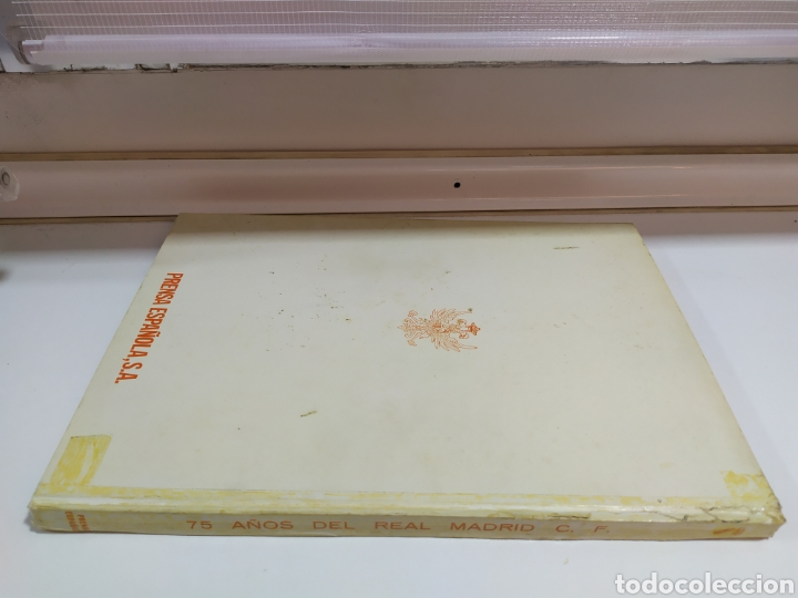 Coleccionismo deportivo: 75 AÑOS DEL REAL MADRID C.F. - 1.902-1.977 - EDITADO POR PRENSA ESPAÑOLA S.A. ( 1977 ) - Foto 5 - 183961566