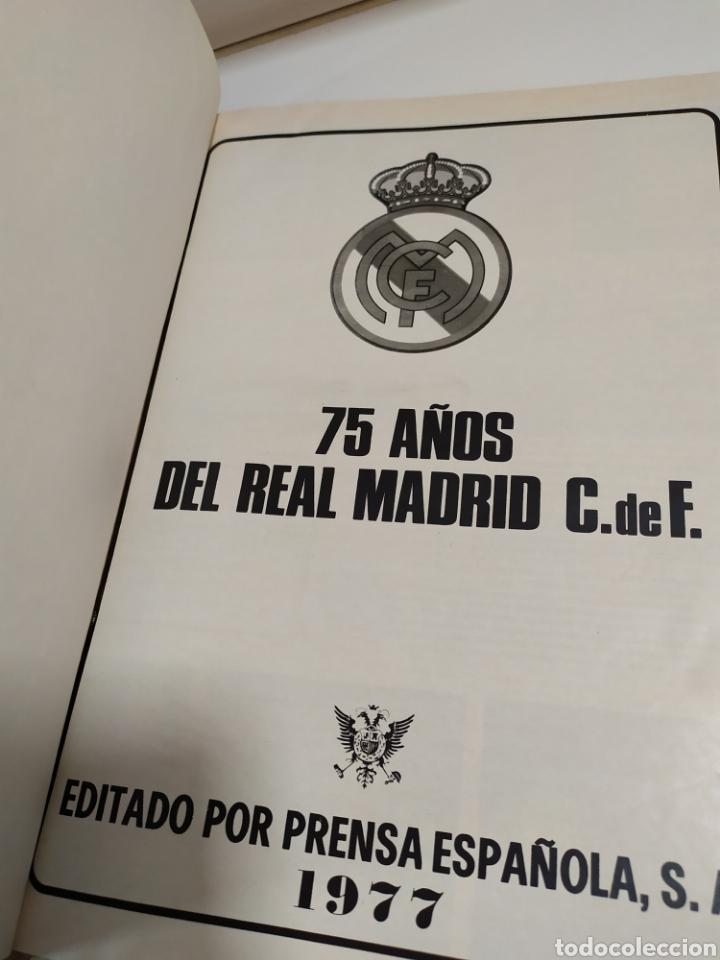 Coleccionismo deportivo: 75 AÑOS DEL REAL MADRID C.F. - 1.902-1.977 - EDITADO POR PRENSA ESPAÑOLA S.A. ( 1977 ) - Foto 10 - 183961566