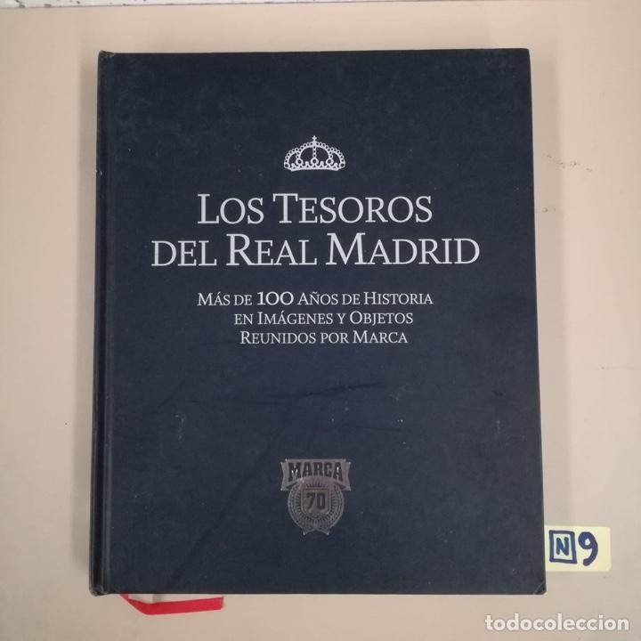 LOS TESOROS DEL REAL MADRID (Coleccionismo Deportivo - Libros de Fútbol)
