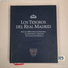 Coleccionismo deportivo: LOS TESOROS DEL REAL MADRID. Lote 184111492