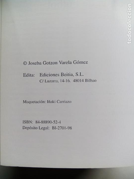 Coleccionismo deportivo: HISTORIA DE LA SELECCIÓN DE FÚTBOL DE EUSKADI 1915-1997. JOSEBA GOTZON. EDICIONES BEITIA 1998. - Foto 3 - 184268917