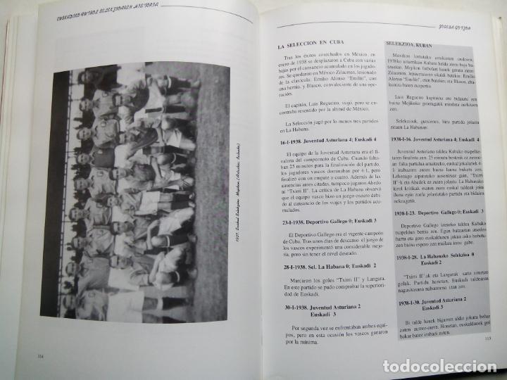 Coleccionismo deportivo: HISTORIA DE LA SELECCIÓN DE FÚTBOL DE EUSKADI 1915-1997. JOSEBA GOTZON. EDICIONES BEITIA 1998. - Foto 6 - 184268917