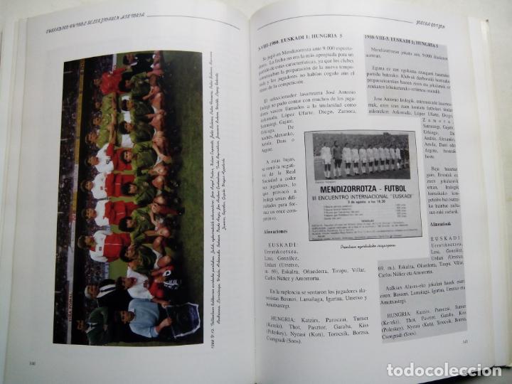 Coleccionismo deportivo: HISTORIA DE LA SELECCIÓN DE FÚTBOL DE EUSKADI 1915-1997. JOSEBA GOTZON. EDICIONES BEITIA 1998. - Foto 7 - 184268917