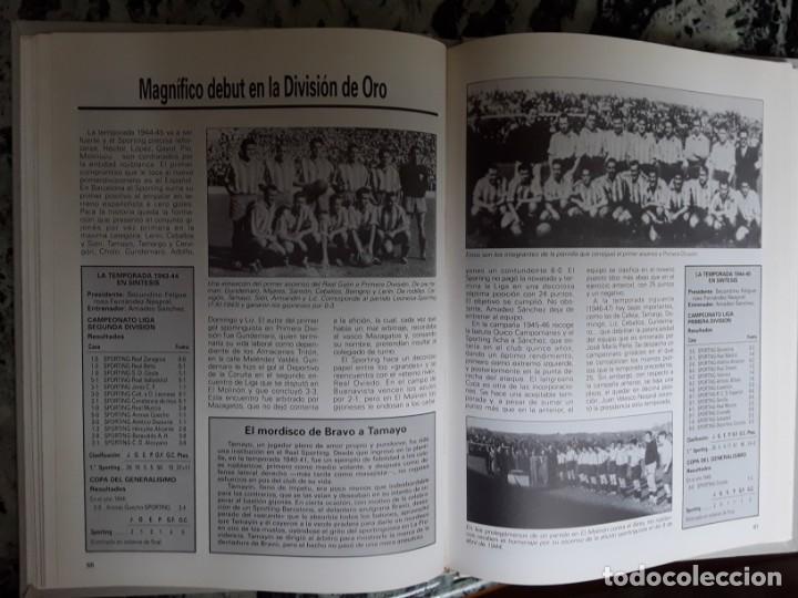Coleccionismo deportivo: Real Sporting. Equipos con historia. Gijón. Universo Ed., 1990. Único en tc. Ilustrado. - Foto 5 - 184492557