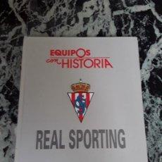 Coleccionismo deportivo: REAL SPORTING. EQUIPOS CON HISTORIA. GIJÓN. UNIVERSO ED., 1990. ÚNICO EN TC. ILUSTRADO.. Lote 184492557