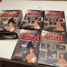 Coleccionismo deportivo: G-ATHBAR19 CURSO DE FUTBOL INICIACION Y PERFECCIONAMIENTO PLAN MARCET 3 DVD Y UN LIBRO VER FOTOS . Lote 184874727