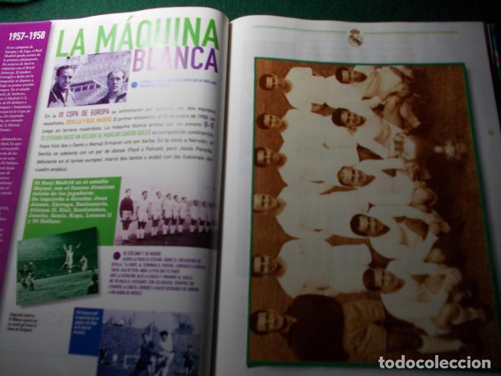 Coleccionismo deportivo: HISTORIA GRÁFICA DEL REAL MADRID AS COMPLETO - Foto 2 - 185773463