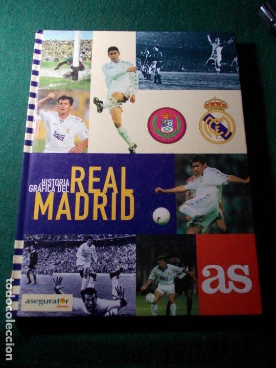 HISTORIA GRÁFICA DEL REAL MADRID AS COMPLETO (Coleccionismo Deportivo - Libros de Fútbol)