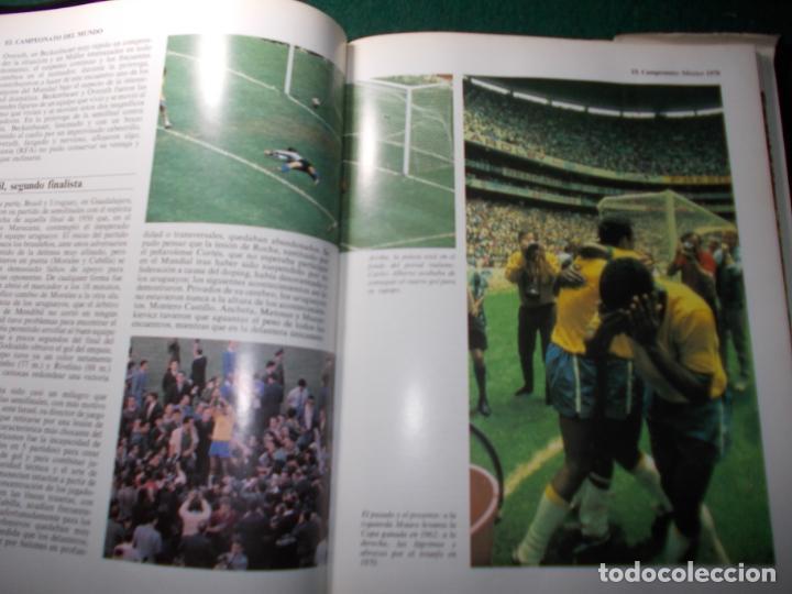 Coleccionismo deportivo: ENCICLOPEDIA MUNDIAL DEL FÚTBOL HISTORIA DE LOS MUNDIALES - Foto 2 - 185774030