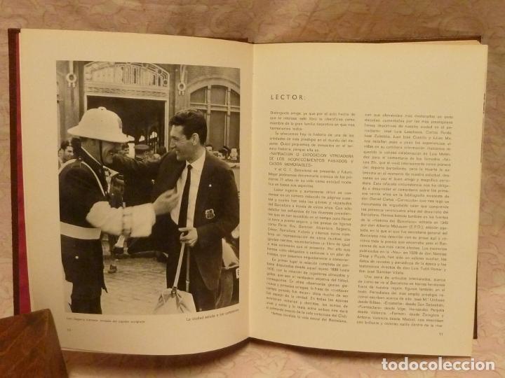 Coleccionismo deportivo: BARÇA / HISTORIA DEL C.F.BARCELONA – ED. LA GRAN EDITORIAL VASCA 1971 - Foto 3 - 185899637