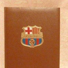 Coleccionismo deportivo: BARÇA / HISTORIA DEL C.F.BARCELONA – ED. LA GRAN EDITORIAL VASCA 1971. Lote 185899637