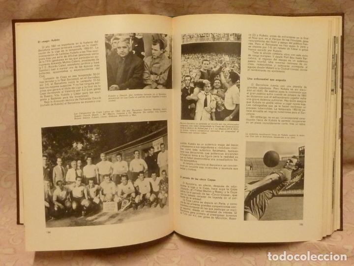 Coleccionismo deportivo: BARÇA / HISTORIA DEL C.F.BARCELONA – ED. LA GRAN EDITORIAL VASCA 1971 - Foto 5 - 185899637