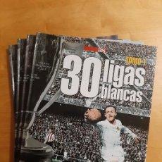 Coleccionismo deportivo: COLECCION COMPLETA 4 TOMOS DIARIO AS - 30 LIGAS BLANCAS (REAL MADRID). Lote 185919858