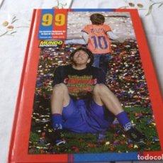Collectionnisme sportif: (LLL) LIBRO-LAS MEJORES IMAGENES DE LA LIGA DE LOS RECORDS 2009-10. Lote 186089283
