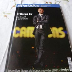 Collectionnisme sportif: (LLL) LIBRO- EL BARÇA 10 DE CRUYFF A GUARDIOLA. Lote 186092712