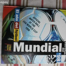 Coleccionismo deportivo: LAS ESTRELLAS DEL MUNDIAL 98 - EL MUNDO DEPORTIVO. Lote 186462160