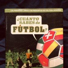 Coleccionismo deportivo: CUANTO SABES DE FUTBOL CIRCULO DE LECTORES 200 PREGUNTAS AÑO 2012. Lote 189180662