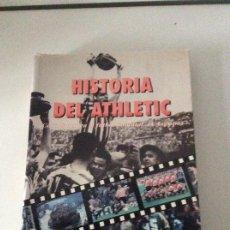 Coleccionismo deportivo: HISTORIA DEL ATHLETIC EDITORIAL LA GRAN ENCICLOPEDIA VASCA RARO ATHLETIC CLUB DE BILBAO. Lote 189928918