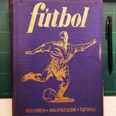 Coleccionismo deportivo: ENCICLOPEDIA DE FUTBOL, TOMO 1, UNICO PUBLICADO, 1950-51, MÁS DE 1.000 PÁGINAS LLENAS DE FOTOGRAFÍAS. Lote 175772624