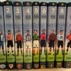 Coleccionismo deportivo: HISTORIA DEL FUTBOL VASCO. EDITA: ARALAR 2001. 9 TOMOS (COMPLETA). ATHLETIC CLUB, REAL SOCIEDAD, ALA. Lote 190480101