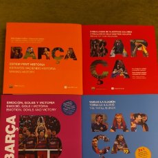 Coleccionismo deportivo: LIBROS BARÇA. 5 LIBROS DEL FC BARCELONA. EDITORIAL ANGLE. Lote 190536540