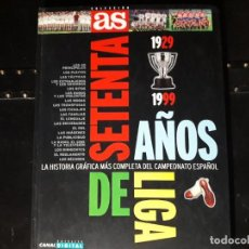 Coleccionismo deportivo: AS SETENTA AÑOS DE LIGA. Lote 191178291