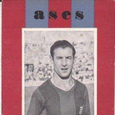 Collezionismo sportivo: LEBRETO ASES HISTORIA Y BIOGRAFIA CESAR C-F-BARCELONA . Lote 191445877