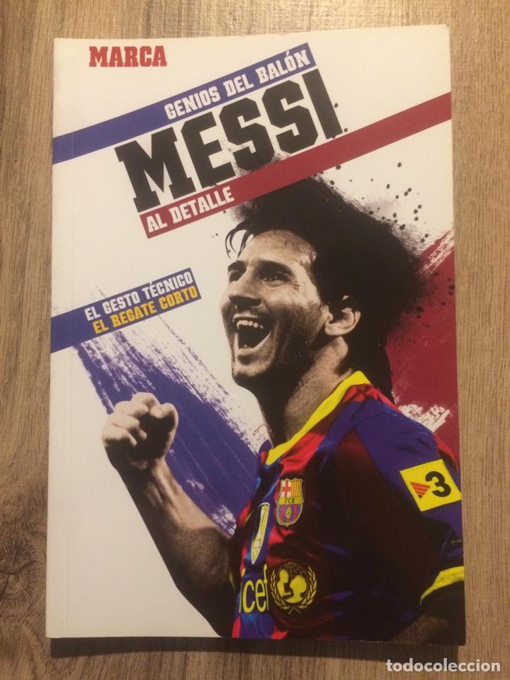 MESSI - GENIOS DEL BALÓN- MARCA (Coleccionismo Deportivo - Libros de Fútbol)
