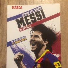 Coleccionismo deportivo: MESSI - GENIOS DEL BALÓN- MARCA. Lote 191847202