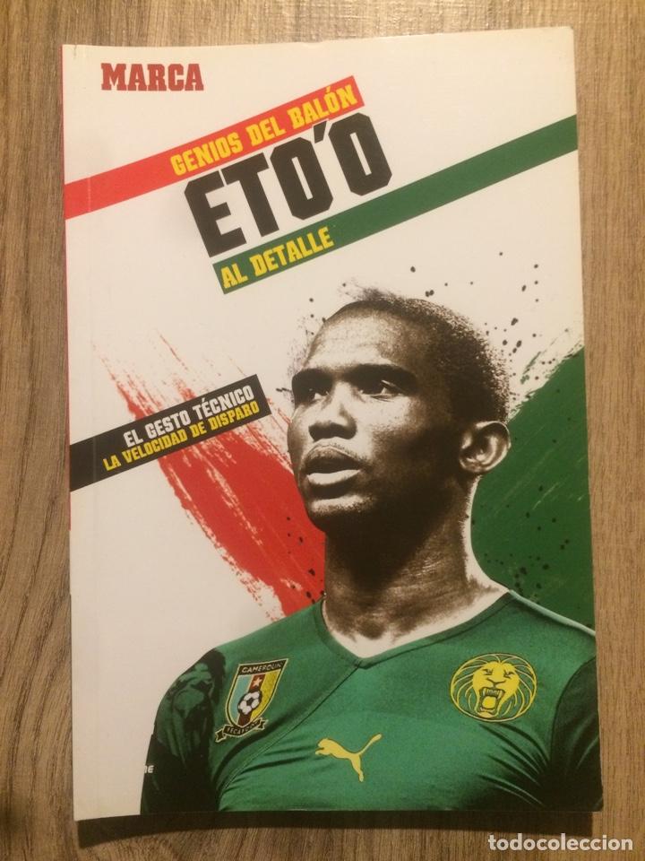 ETO'O - GENIOS DEL BALÓN- MARCA (Coleccionismo Deportivo - Libros de Fútbol)
