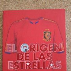Coleccionismo deportivo: EL ORIGEN DE LAS ESTRELLAS. FÚTBOL SALA. 10 AÑOS DE SELECCIÓN 10. MUNDIAL DE GAUTEMALA. 2010. Lote 193007898