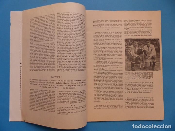 Coleccionismo deportivo: PUCHADES VALENCIA C.F. - BIOGRAFIA DE UN FUTBOLISTA VALENCIANO POR JOSE MARIA ARRAIZ - AÑO 1959 - Foto 3 - 193056510