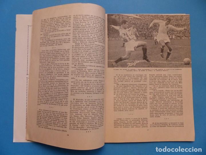 Coleccionismo deportivo: PUCHADES VALENCIA C.F. - BIOGRAFIA DE UN FUTBOLISTA VALENCIANO POR JOSE MARIA ARRAIZ - AÑO 1959 - Foto 9 - 193056510