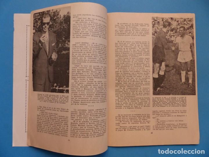 Coleccionismo deportivo: PUCHADES VALENCIA C.F. - BIOGRAFIA DE UN FUTBOLISTA VALENCIANO POR JOSE MARIA ARRAIZ - AÑO 1959 - Foto 11 - 193056510